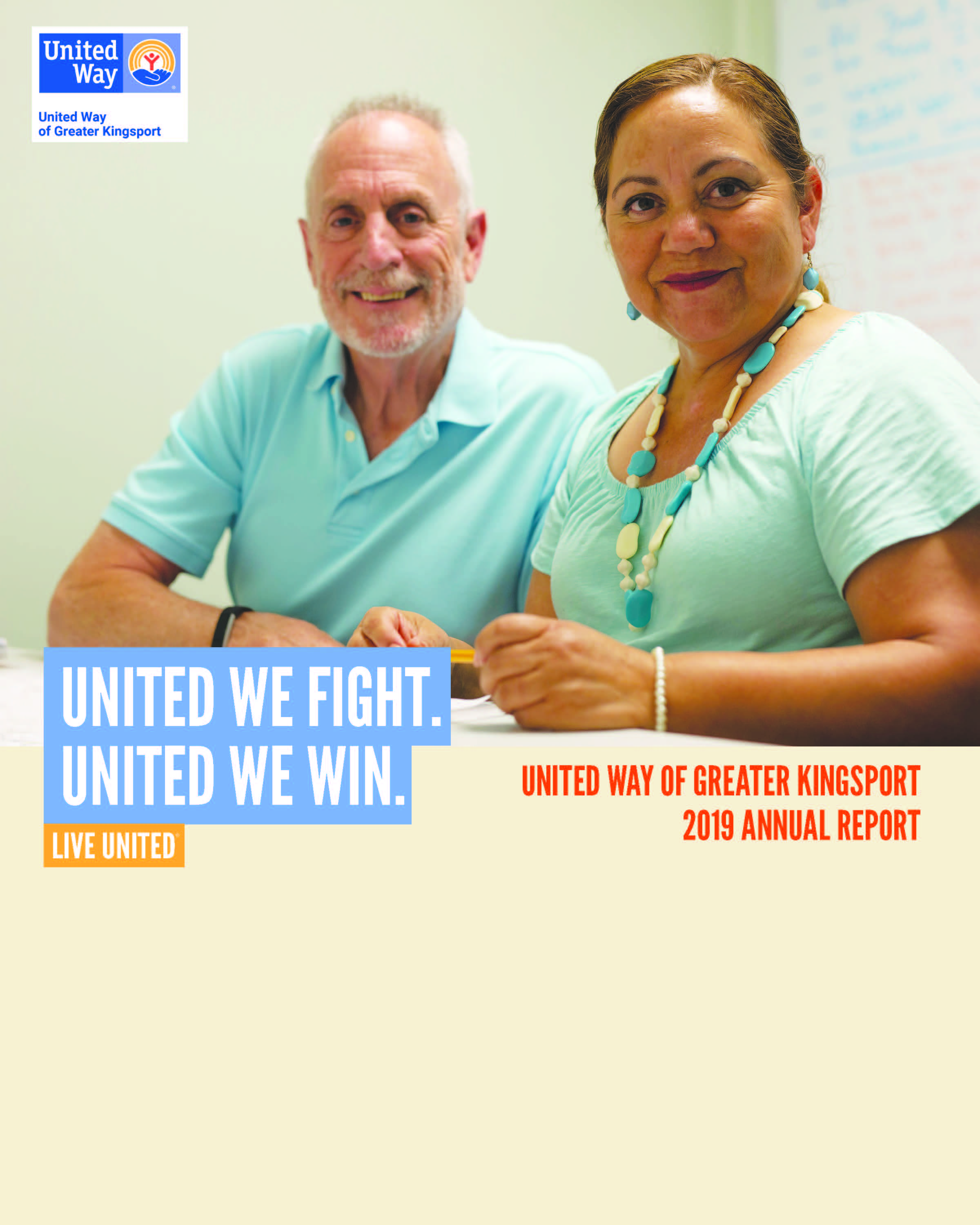 United Way of Greater Kingsport 2019 Annual Report